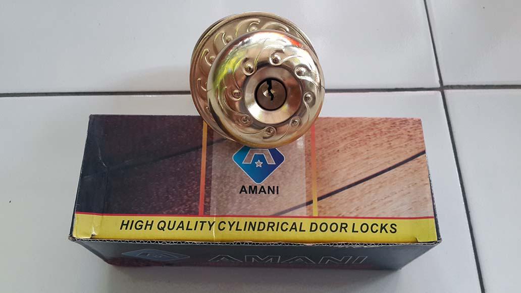 Kunci Pintu Bulat Amani