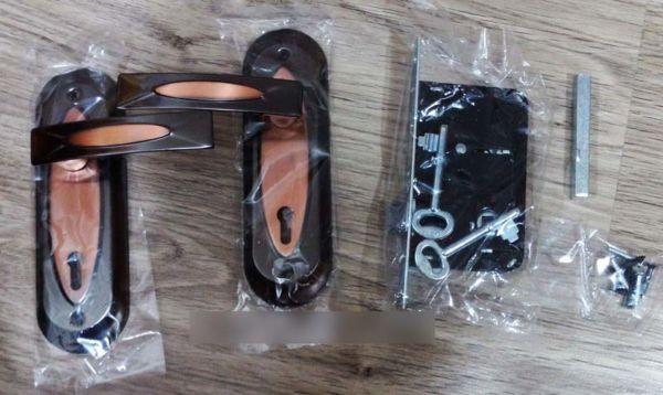 Kunci Pintu 1 Set TOP Coklat