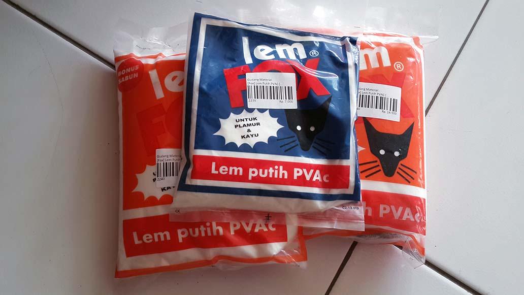 Lem Putih PVAC Fox
