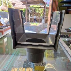 Corong / Lubang Pembuangan Talang Kotak PVC