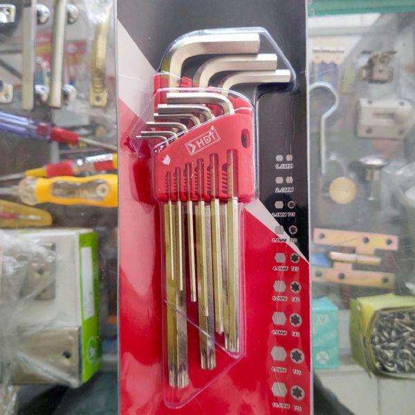 Kunci L & Bintang